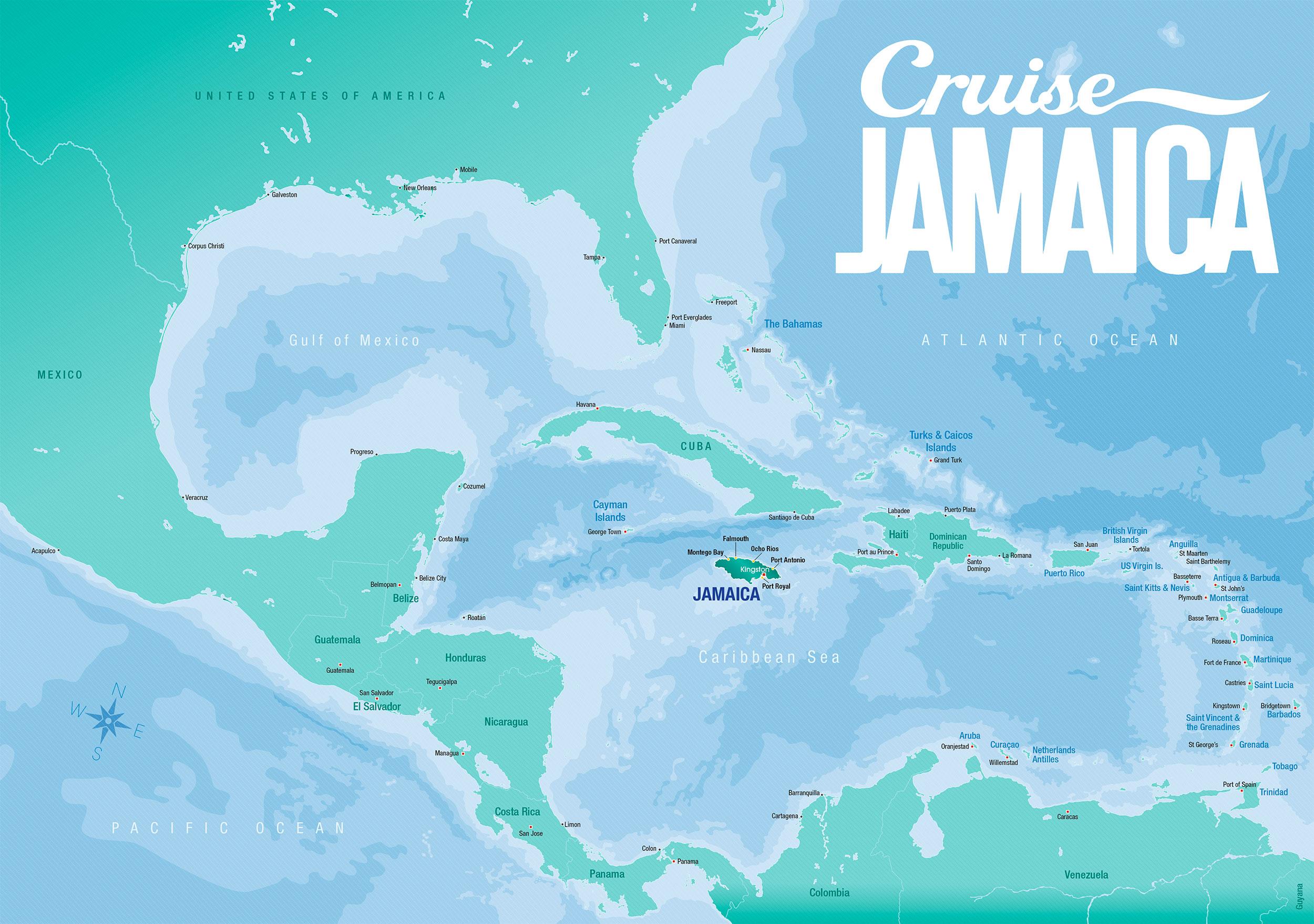 Location Cruise Jamaica